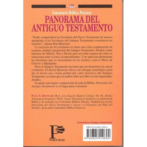 PANORAMA DEL ANTIGUO TESTAMENTO - RÚSTICO