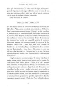 Salvaje de Corazon