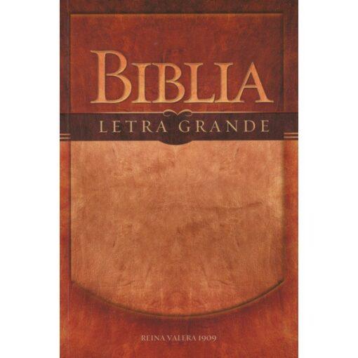 BIBLIA LETRA GRANDE RUSTICA 1909