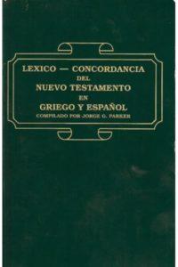 Lexico Concordancia del N T En Gr /Esp