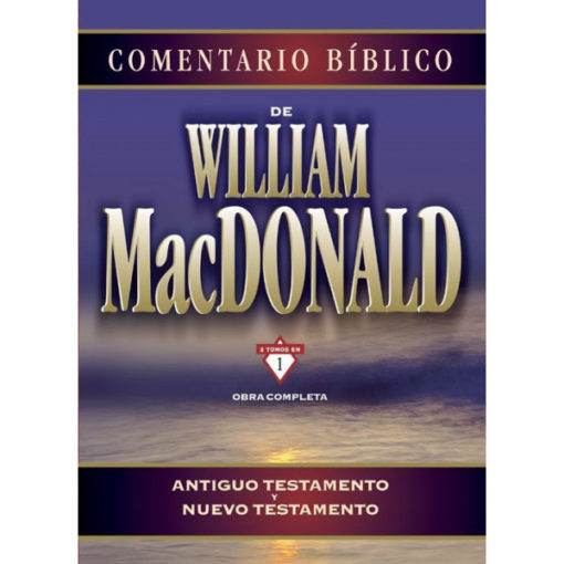 COMENTARIO BIBLICO WILLIAM MACDONALD