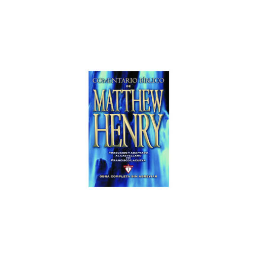 COMENTARIO BÍBLICO MATHEW HENRY