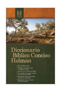 DICCIONARIO BÍBLICO CONCISO HOLMAN NVA EDIC