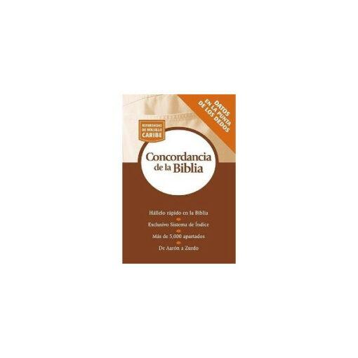 CONCORDANCIA DE LA BIBLIA - BOLSILLO