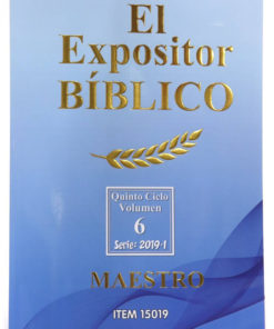 Expositor Biblico Maestro Rustico Primer Semestre