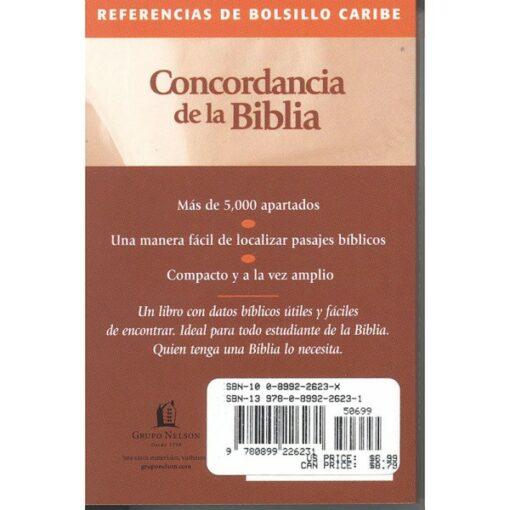 Concordancia-Bolsillo Caribe