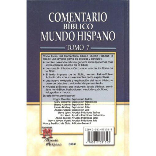 Comentario M H -Esdras-Job T-7 (Tela)