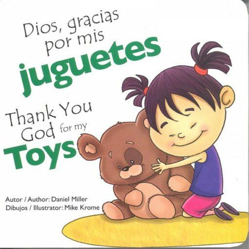 Dios, Gracias por mis Juguetes Bilingue