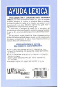 AYUDA LÉXICA P/ LECTURA DEL N.T. GRIEGO