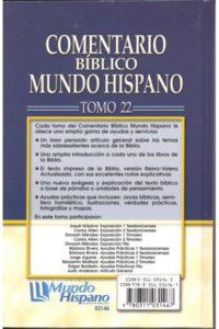 COMENTARIO 1 Y 2 TESA Y 1 Y 2 TIM TOMO22