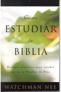 Como Estudiar la Biblia-Nee