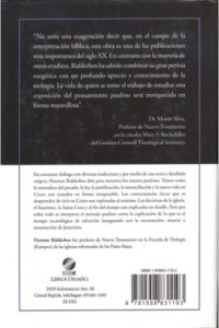 PENSAMIENTO DEL APOSTOL PABLO
